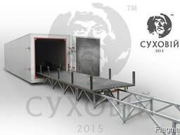 Оборудование для термообработки древесины