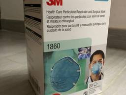 3M 8210 N95 , 3M 1680 N95 , 3 Ply Face Mask And IR Thermometer
