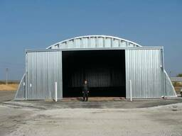 Arch buildings – hangars - photo 3