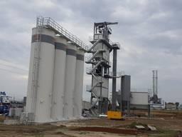 Б/У стационарный асфальтный завод Ammann 240 т/ч, 2018 г. в.