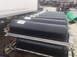 CNG-hengerek teherautókhoz és pótkocsikhoz, 214 liter, TYPE