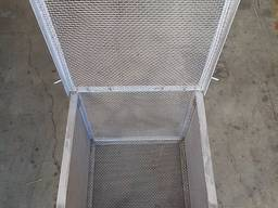 Crimped steel wire mesh and products made of it - photo 6
