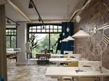 Design for office, bank, restaurant, bar, beauty salon - фото 8