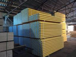 Formwork timber wood beam for concrete - фото 2
