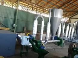 Линия для переработки отходов древесины в топливные брикеты