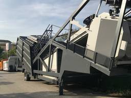 MVS 60M 60m3/hour Mobile Concrete Batching Plant - photo 3