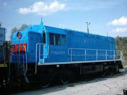 Pótalkatrészek vágányberendezésekhez, dízelmozdonyokhoz, kocsikhoz, vasúti darukhoz