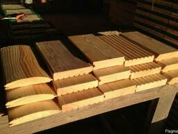 Planed timber, moldings, molded products (Planed sawn wood t